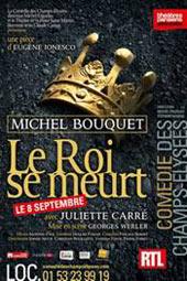 Rideau th tre le roi se meurt avec michel bouquet - Comedie des champs elysees ...